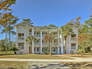 NEW! 1BR Golf Villa Condo w/Pool near Myrtle Beach