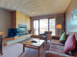 Cozy, waterfront condo w/ shared hot tub & sauna - moments from lake & skiing!