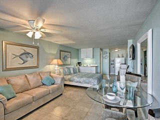 NEW! Oceanfront Daytona Beach Shores Studio w/Pool