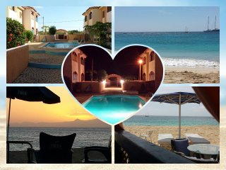 Maio - Cabo Verde - residence con piscina - oceano atlantico