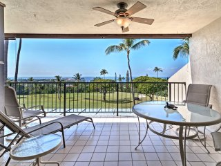 Kailua Condo on Golf Course - Balcony w/Ocean View
