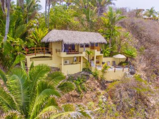 Casa del Risco - Spectacular Ocean Views, Private Beach Access - San Pancho