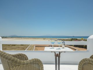 beachfront new resident m vigla naxos/2 bedrooms /7 people