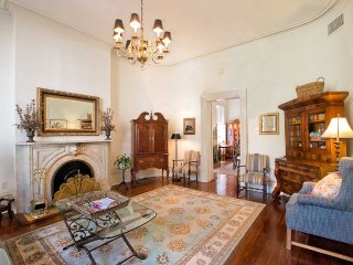 Stay with Lucky Savannah: Home above Mrs. Wilkes restaurant with a King bed