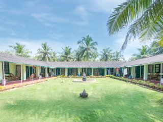 Beachside accommodation for three, set amidst serene environs