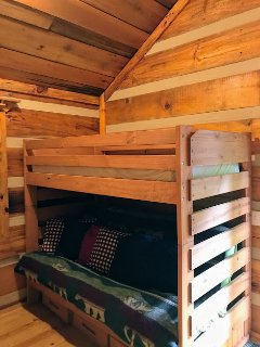 2nd BR with Bunk.  The bottom bunk pulls out into a double bed.