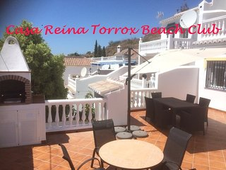 53 Torrox beach club apartmrent overlooking the ocean