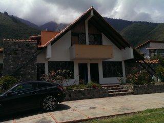 Chalet Chiquinquira, Casa de montaña en pleno parque nacional