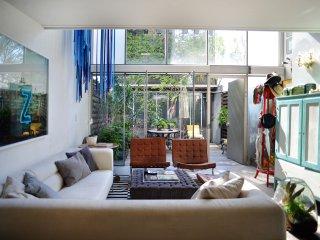 Artistic loft with plenty of light
