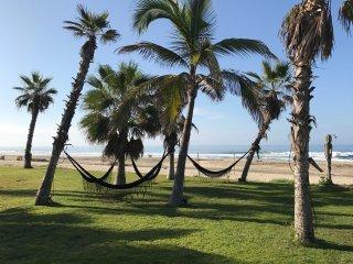 Stunning beach-front retreat