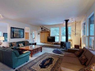 Cozy mountain home w/ two decks & woodland views - close to skiing & the lake!