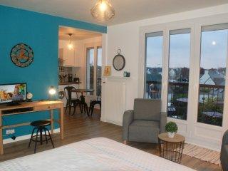 Appartement Nouveau Monde, plage a 10 minutes, centre-ville a pied