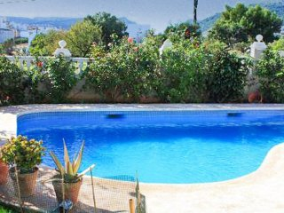 Villa with 2 bedrooms in Calpe, with wonderful sea view, private pool, terrace
