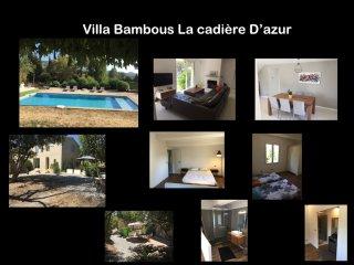 Villa Bambous a la cadiere d'azur