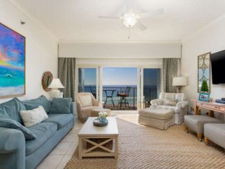 GULF FRONT * 2 King Beds! 5th Floor, Amazing Views! Free Wifi. Free Dolphin Crui