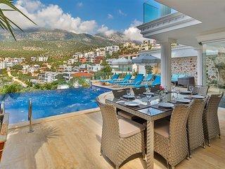 Villa Mavi Su 2 - Contemporary 5 bedroom villa with private pool and sea views