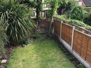 jardin arrière privé