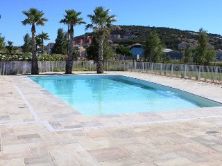 Villa with Pool beside beach