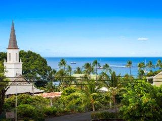 Kalanikai 306, Ocean View 1BR/1BA right in the heart of Kona town!