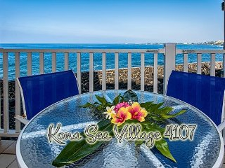 *New* Oceanfront 2BR ground floor condo, Sea Village 4107