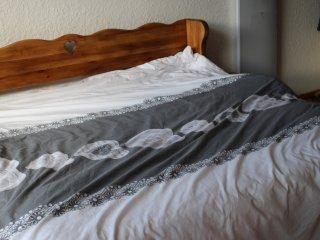 canapé lit gigogne ouvert 160x190