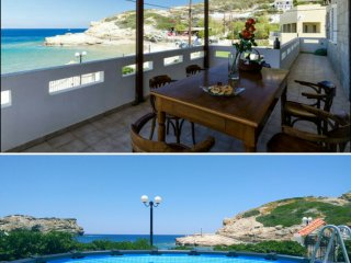 Villa Dimelen (Blissful Beach front Villa with swimming pool)