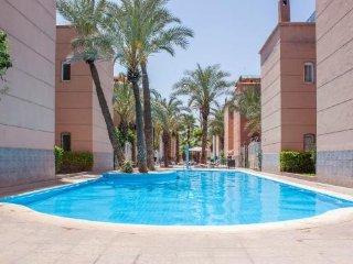 Loue riad dans résidence sécurisée avec 3 piscines