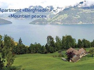 Apartment Ferienwohnung Bergfrieden Rigi view