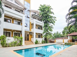 Two bedroom pool facing Apartment for rent in Anjuna Goa - A1