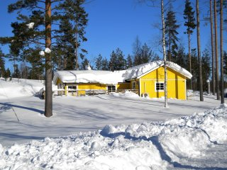 K39 Lovely spacious cottage in Swedish nature with modern amenities