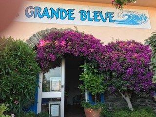 ENTREE DE LA GRANDE BLEUE