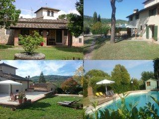 Casale LA FORNACE nel verde del Chianti a 15 km da Firenze,'La Villetta'