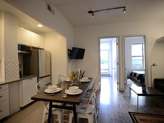 Harlem Luxury Condo.  All New.  2 full bedrooms with large balcony.