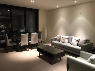 Melbourne Short Stay Docklands Convesso seaview apartment high floor