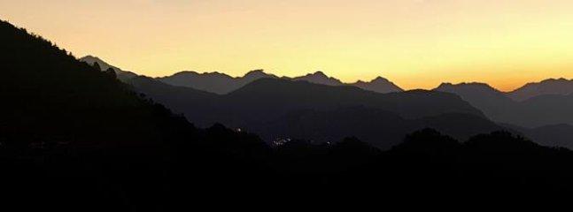 vue Sunrise des chalets
