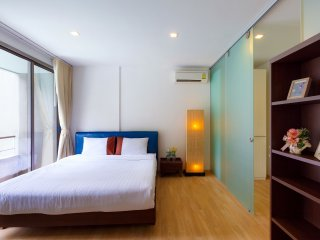 Baan SanKraam Beachfront Condominium, Cha-am 1-Bedroom Apt., AAB_Pool View