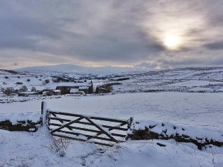 Beautiful views of Northumberland