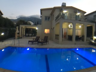 Luxury Villa with Large Private Pool and Sea Views