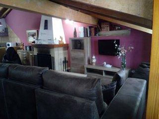 Apartamento La Calzada I, entorno rural