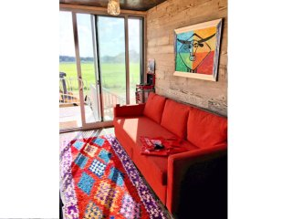 Funky, Colorful & Eclectic Shipping Container Home Rental-Houze IV