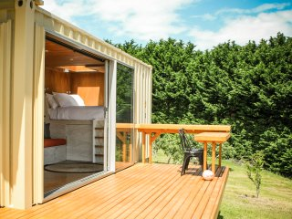 Stargaze in Luxury Shipping Container