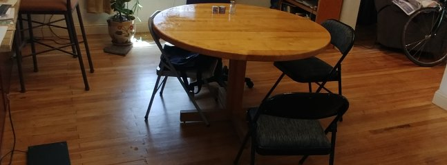 Dining area (a newer table has been installed since this picture)