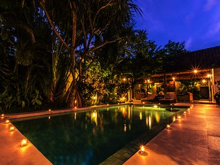 A Spacious Family Villa in Central Seminyak