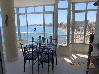 Ref: 271- Seafront 2 Bedroom End apartment with stunning views and all day sun!