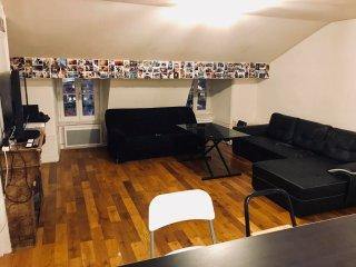 Grand appartement 90m2 : vue unique sur Bellecour
