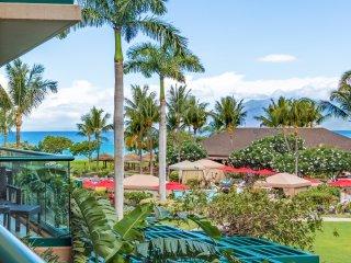 Maui Resort Rentals: Honua Kai Hokulani 213 - Rare Interior Courtyard 1BR w