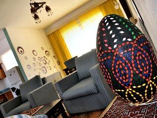 Appartamento confortevole , arredato con stile e con prodotti dell'artigianato locali