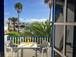 Zentrale Ferienwohnung in Puerto del Carmen.
