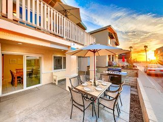Ocean Views w/ Large Patio & Only 2 Houses from Beach!