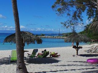 Anse des Rochers Appartement/Studio  dans un domaine avec plage et piscine